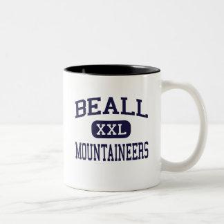 Beall - Mountaineers - High - Frostburg Maryland Two-Tone Mug