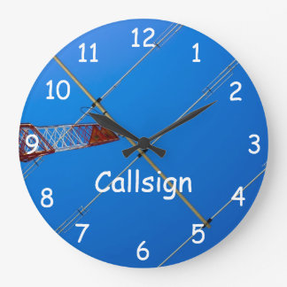 Beam Antenna and Callsign Large Clock