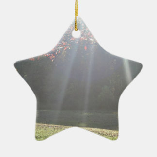 Beaming Sun Rays Christmas Ornament