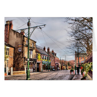 Beamish Front Street Greeting Card
