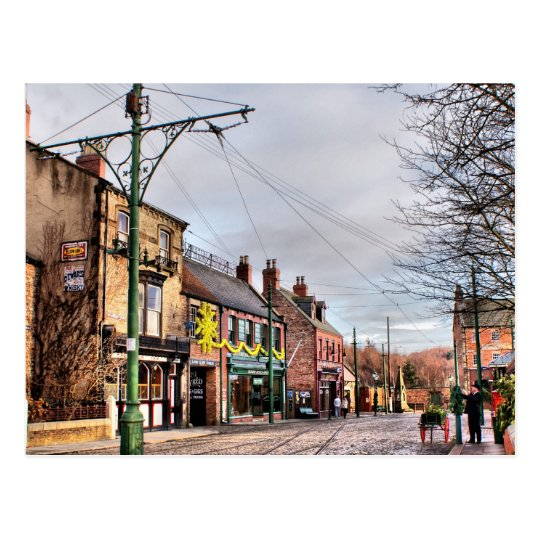 Beamish Front Street Postcard