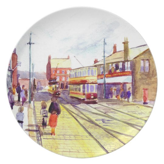 Beamish Museum Melamine Plate