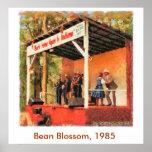Bean Blossom 1985 Bill Monroe Dancing Poster