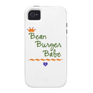 Bean Burger Babe iPhone 4 Case