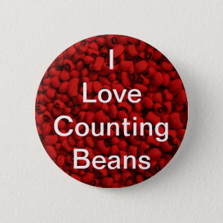Bean Counter 6 Cm Round Badge