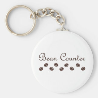 Bean Counter Key Ring