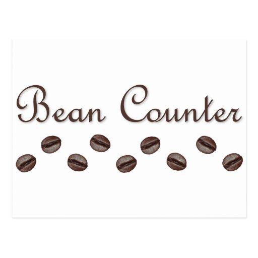 Bean Counter Postcard