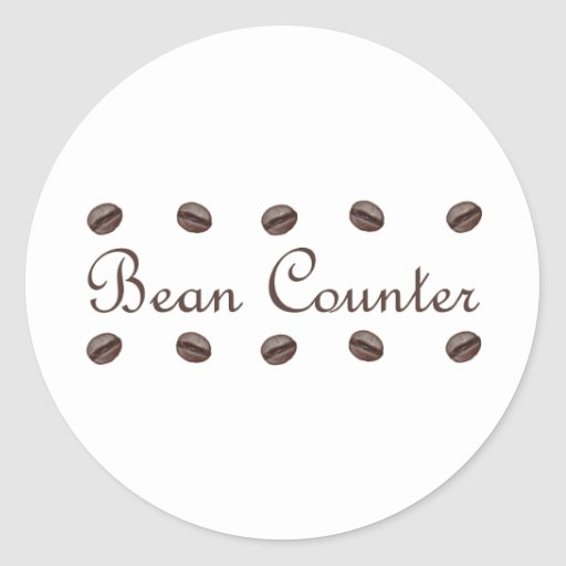 Bean Counter Stickers