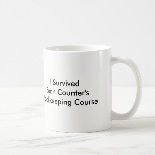 Bean Counter's Coffee Mug