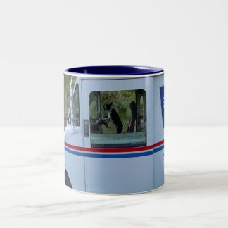 Bean Mail Delivery Two-Tone Mug