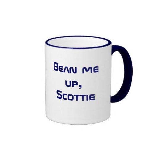 Bean me up, Scottie Mug