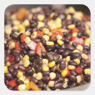 Bean Salad Square Sticker