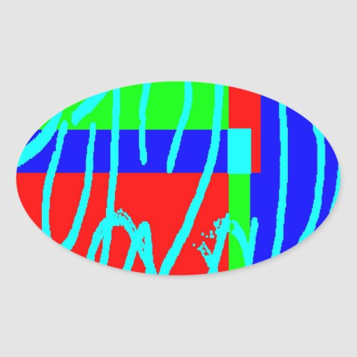 Bean Saw 1 Oval Sticker