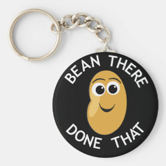 Bean There Done That Key Ring