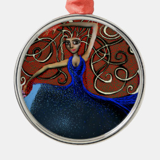Beanca on the Eve of the Summer Solstice. Christmas Ornament