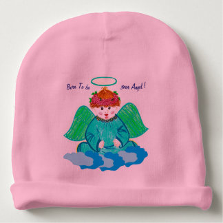 Beanie : Born to be your angel Baby Beanie