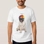 Beanie Pug Tee Shirt