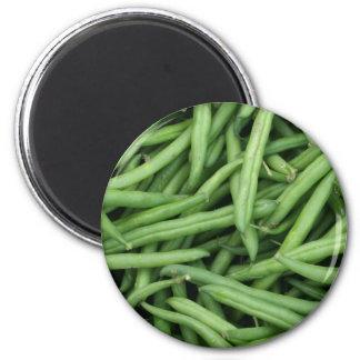 beans 6 cm round magnet