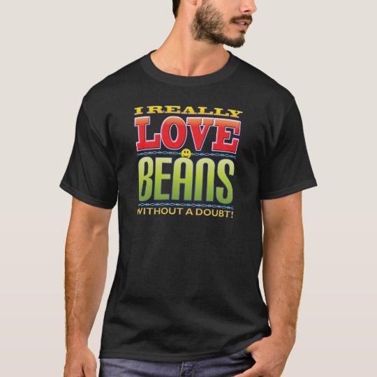 Beans Love Face T-Shirt