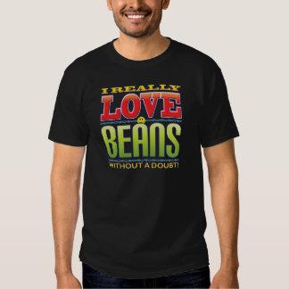 Beans Love Face Tee Shirt