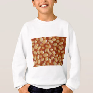 Beans soup salad food useful as background sweatshirt