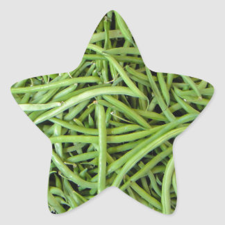 Beans Star Sticker
