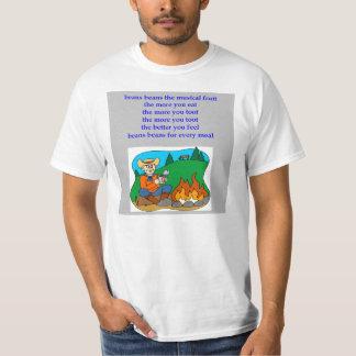 beans the nusical fruit fart rhyme T-Shirt