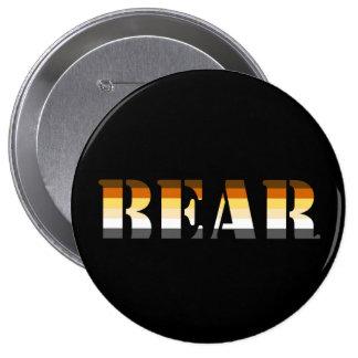 BEAR 10 CM ROUND BADGE