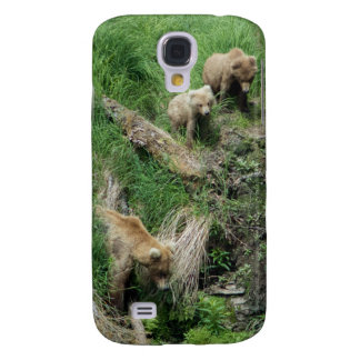 Bear 128 Grazer and Two Cubs Phone Case