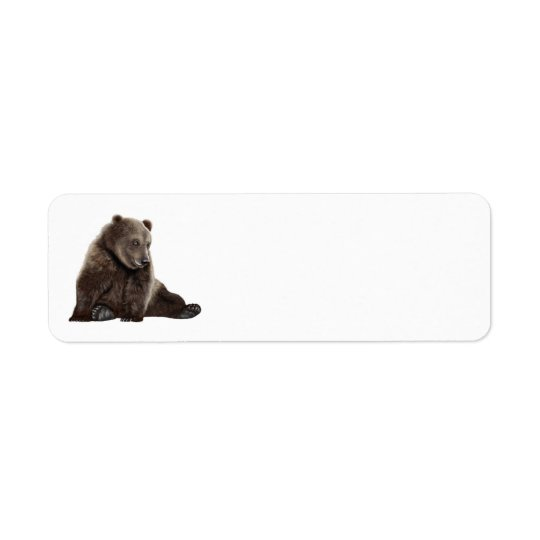 bear address labels
