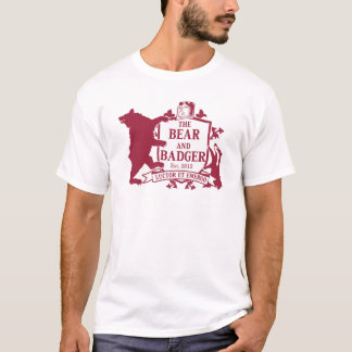 Bear and Badger Heraldic T-Shirt