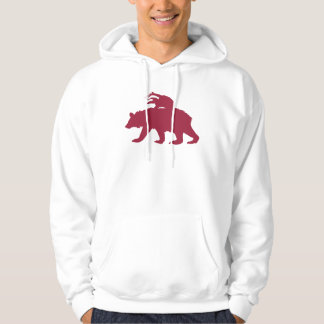 Bear and Badger Logo Hoodie