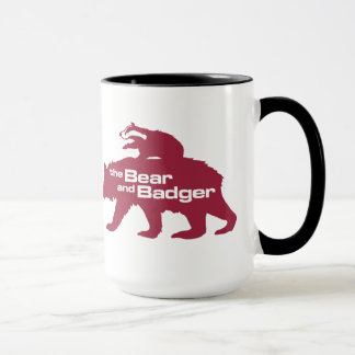Bear and Badger Logo Mug