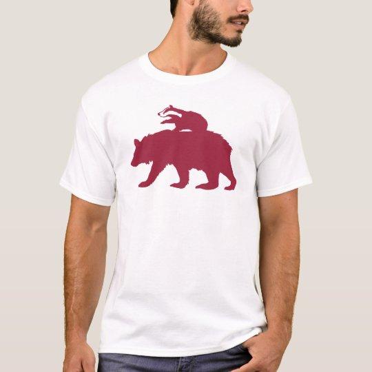 Bear and Badger Logo T-Shirt