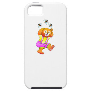 Bear And Bees iPhone 5/5S Covers