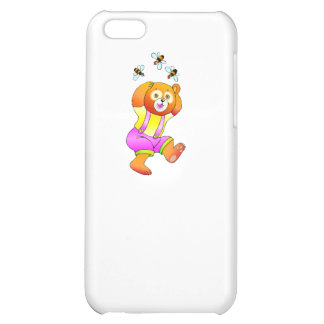 Bear And Bees iPhone 5C Cases