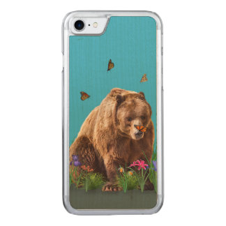 Bear and Butterflies Fantasy  Carved iPhone 8/7 Case
