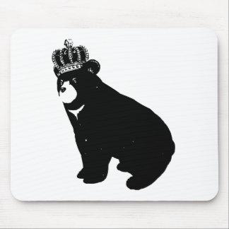 Bear And Crown マウスパッド