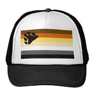 Bear and Cub Community LGBT Gay Pride Flag Trucker Hat