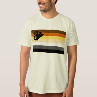 Bear and Cub Community LGBT Gay Pride Flag T-Shirt