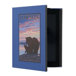 Bear and Cub - Dawson, Alaska iPad Cover