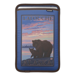 Bear and Cub - Latouche, Alaska MacBook Sleeve
