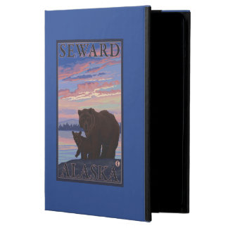 Bear and Cub - Seward, Alaska iPad Air Cover