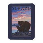 Bear and Cub - Seward, Alaska Magnet