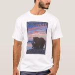 Bear and Cub - Seward, Alaska T-Shirt