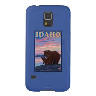 Bear and CubIdahoVintage Travel Poster Galaxy S5 Cover