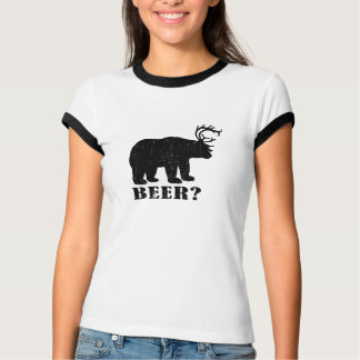 Bear and Deer = Beer? Drunk Redneck Tee