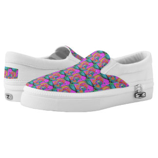 Bear And Grin It Printed Shoes