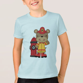 Bear and Hydrant Firefighter T-shirts and Gifts