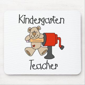 Bear and Sharpener Kindergarten Teacher Mouse Pad